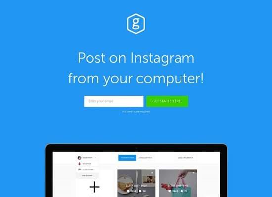 Grum instagram best free marketing software
