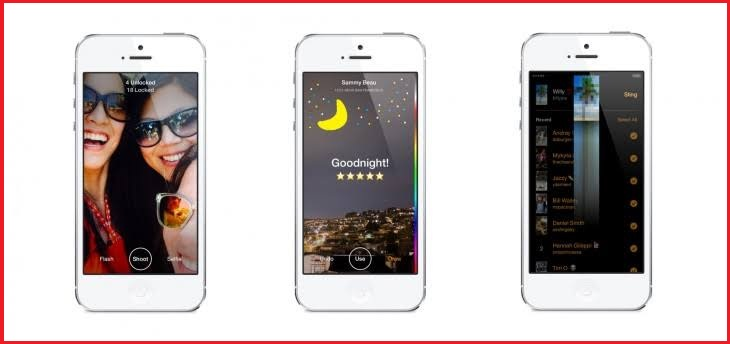 Slingshot - Snapchat alternative for iPhone