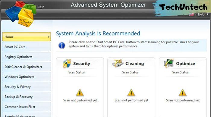 Advanced System Optimizer - CCleaner alternative
