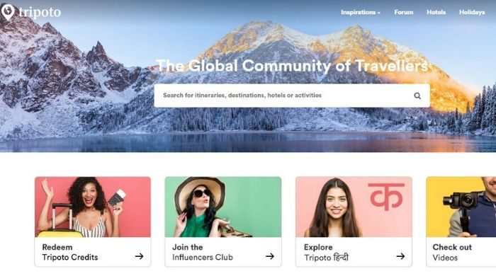 Alternative to Google Trips - Tripoto