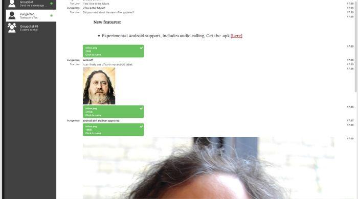 App similar to skype - tox