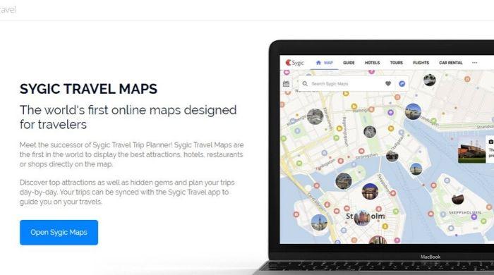 Best Google Trips Alternative Website - Sygic Travel Planner
