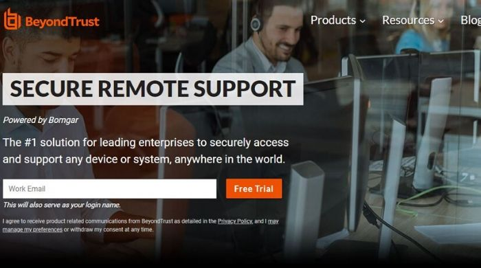 Bomgar Remote Support - Teamviewer Alternatives