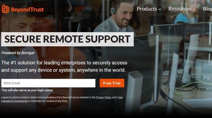 Bomgar Remote Support - Teamviewer Alternatives