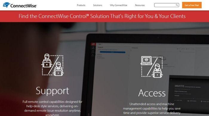 ConnectWise Control Best Teamviewer alternative