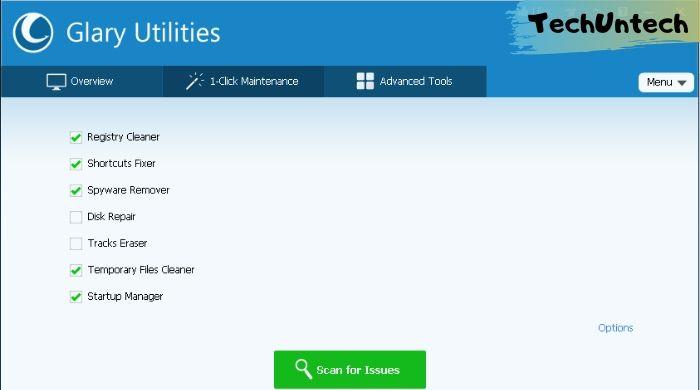 Glary Utilities - Best ccleaner alternative