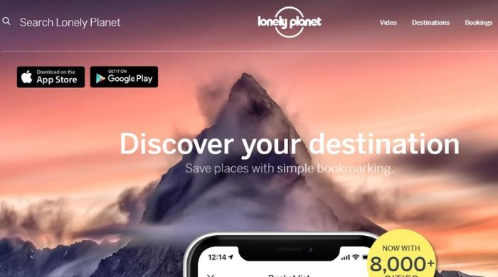 Google Trips Alternative - Guides by Lonely Planet