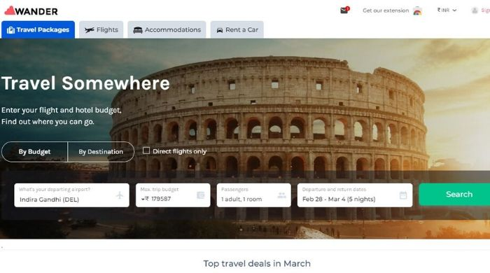 Google Trips Alternative app - Wander