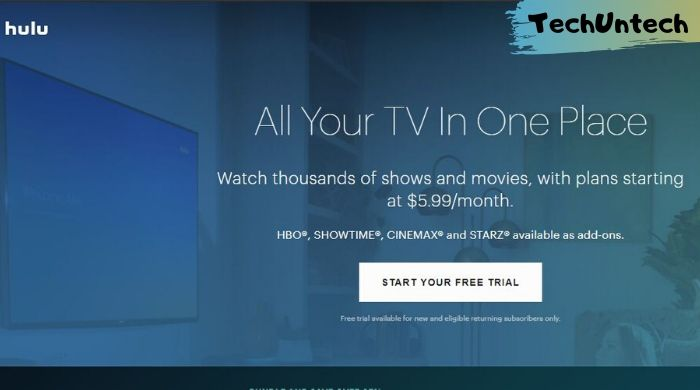 Hulu - movie download and stream website