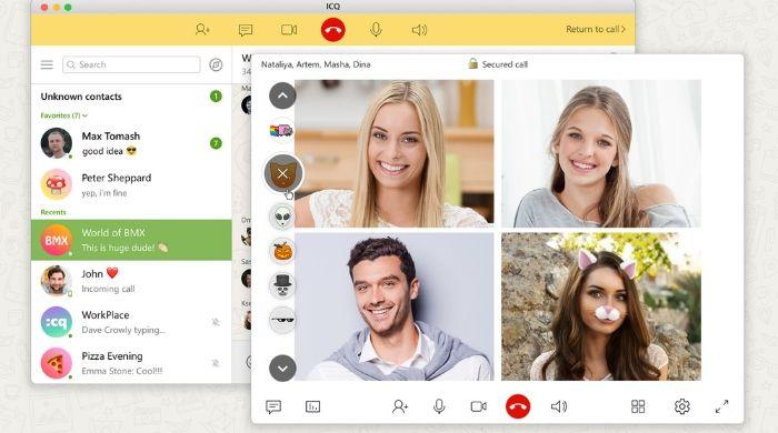 ICQ app alike skype
