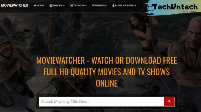 Movie Watcher - free movie and tv series download website
