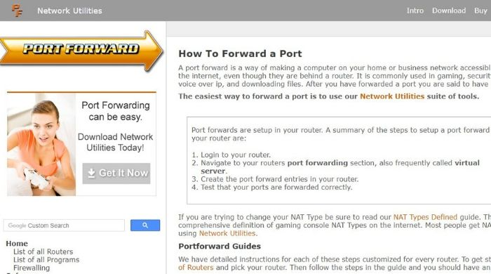 Port Forwarding - Best hamachi alternative
