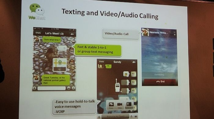 Skype Alternative Wechat
