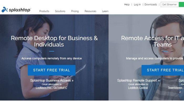 Teamviewer alternatives - Splashtop