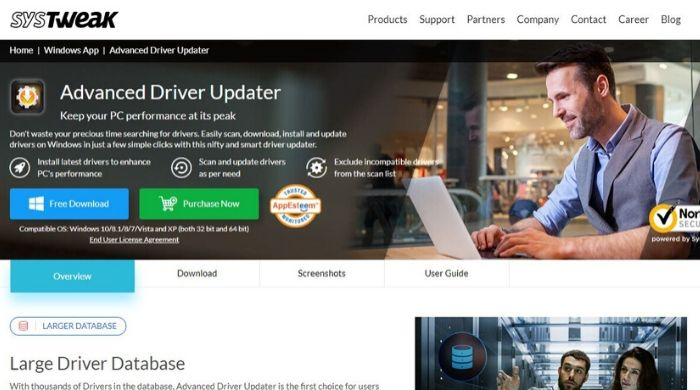 Advanced Driver Updater - Driver Updater Online Software