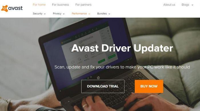 Avast Driver Updater - Best online driver update software