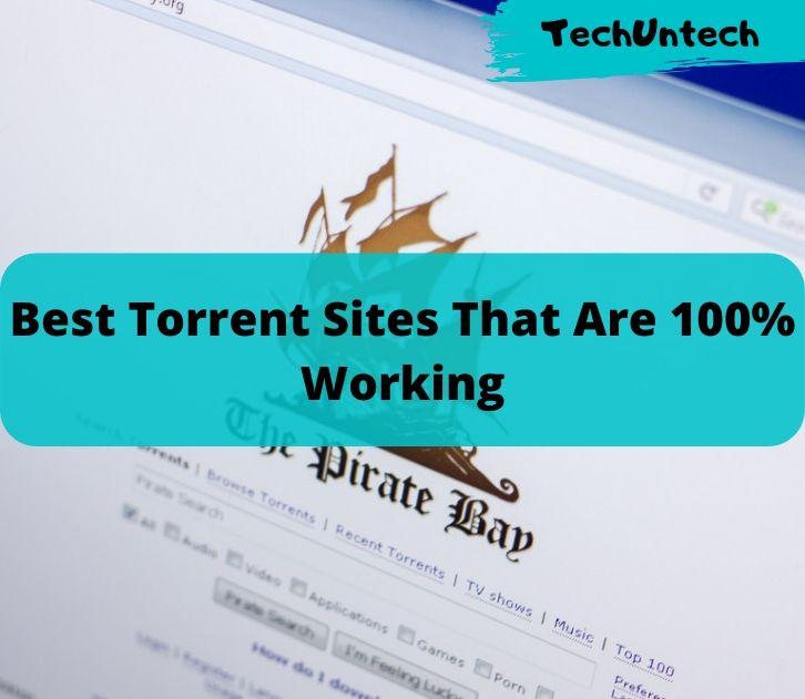 Best Torrent Sites Online