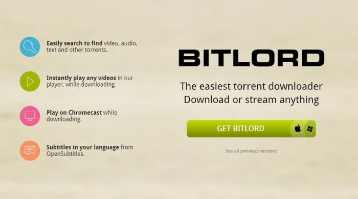 Bitlord - uTorrent Alternative