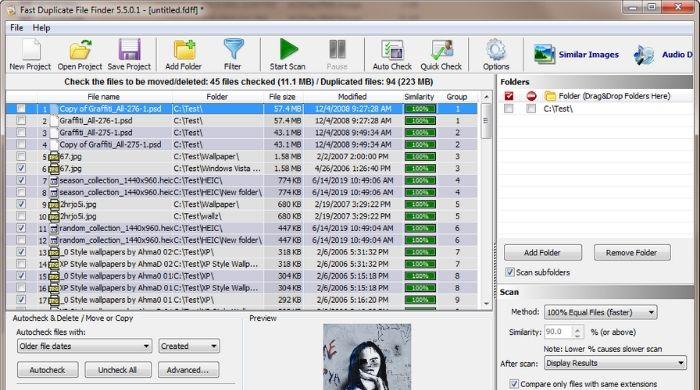 Fast Duplicate File Finder