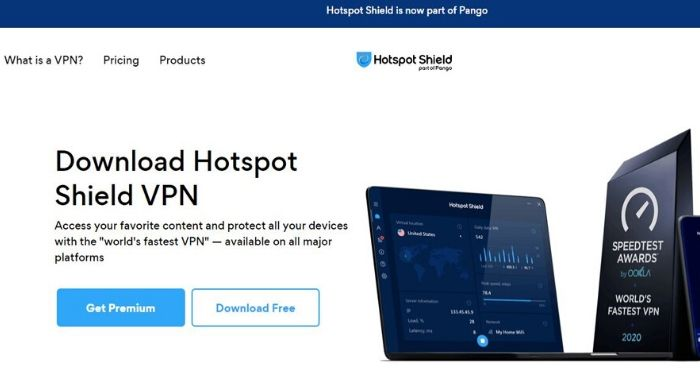 Hotspot Shield Free VPN - Best Free VPN
