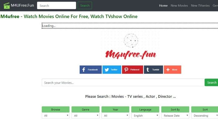 M4UFree - Megashare alike site
