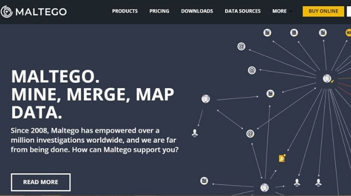 Maltego - Best Free Hacking Software
