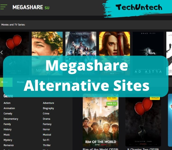 Megashare Alternative Sites to stream movies online
