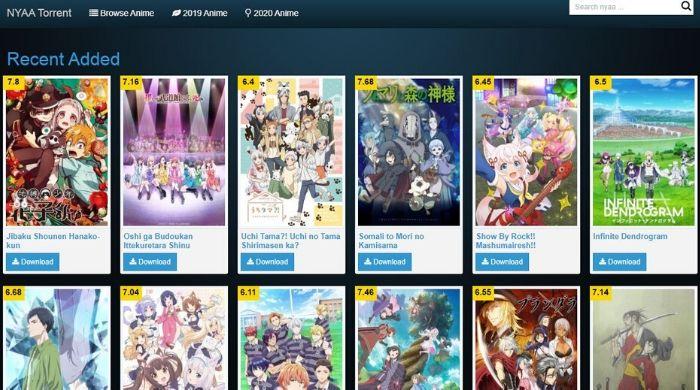 Nyaa - Best Anime Torrent Site