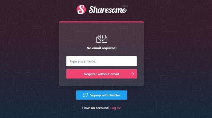 ShareSome - Alternative to tumblr
