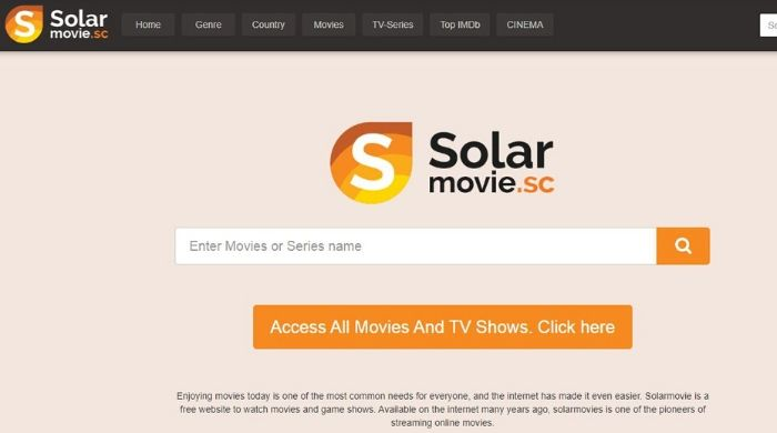 SolarMovies - alternative to megashare