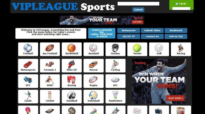 VIPLeague - best site to stream sports online