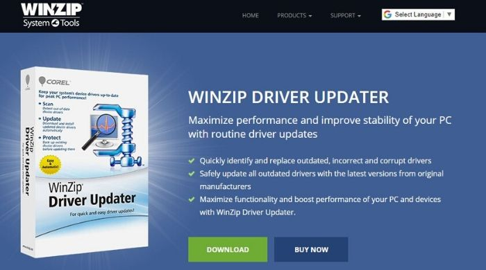 WinZip Driver Updater - Best Driver Updater