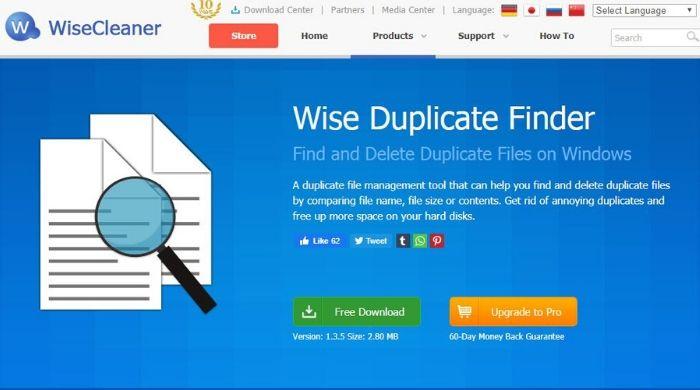 Wise Duplicate Finder