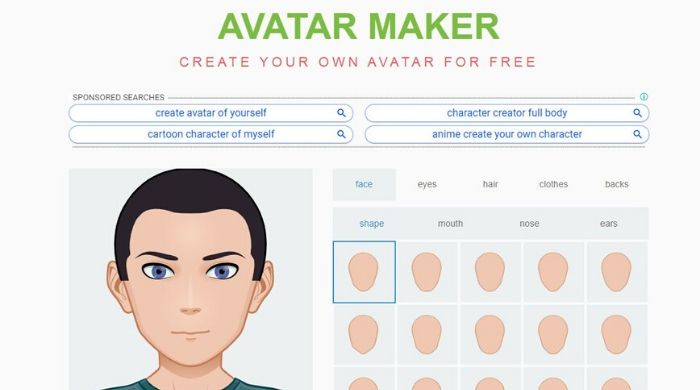 Avatar Maker - Create Avatar Online