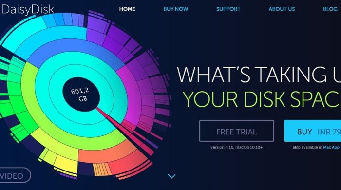 DaisyDisk - Best Paid Mac Cleaner
