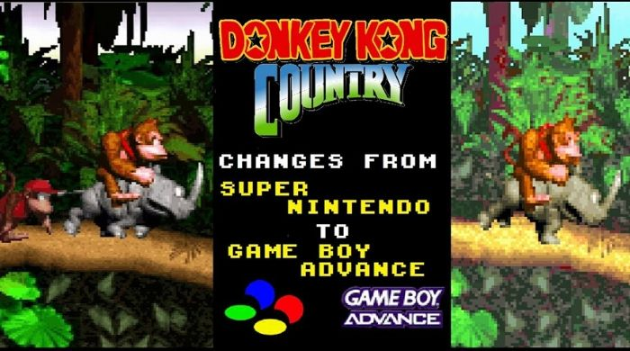 Donkey Kong Country - Gameboy advance best