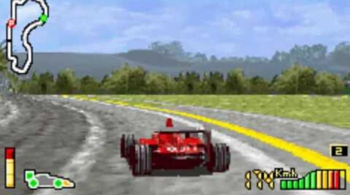 F1 2002 - Best Gameboy advance game