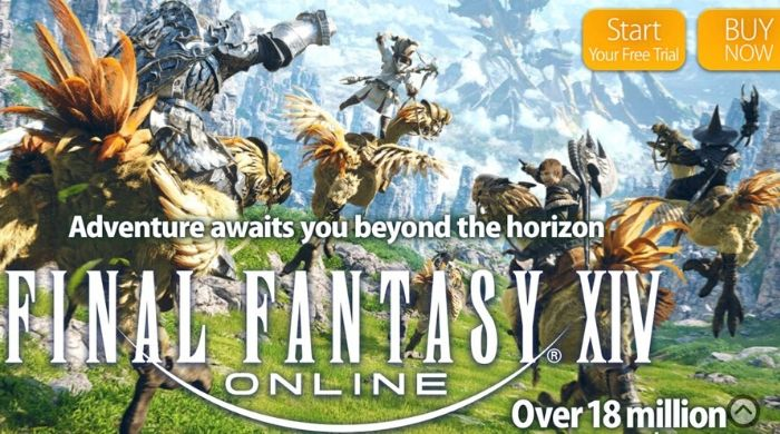 Final Fantasy 14 A Realm Reborn - Best Free MMORPGs