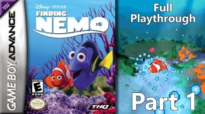 Finding Nemo - Best GBA Game
