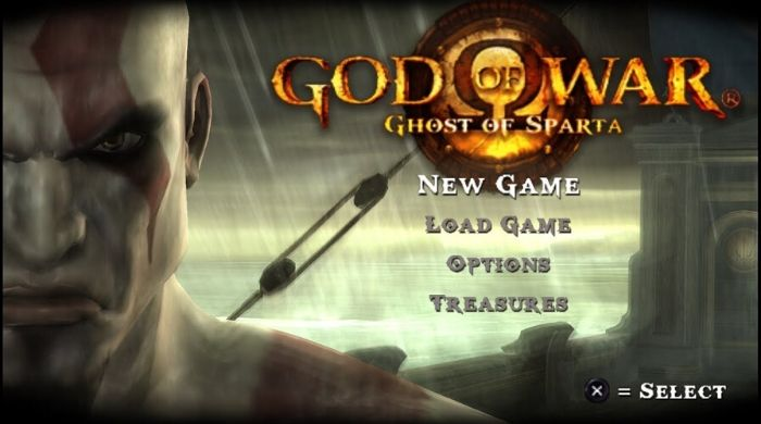 God of War Ghost of Sparta - Best PSP Games