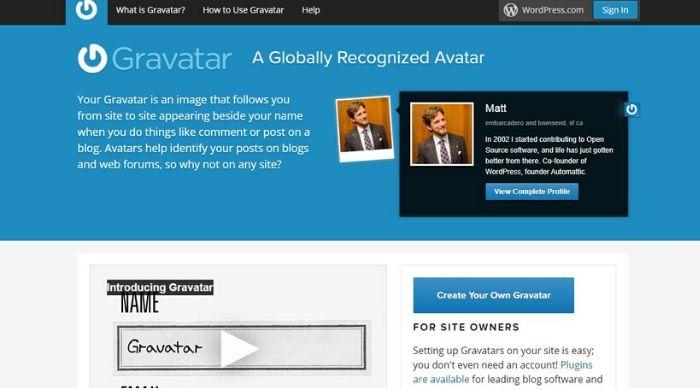 Gravatar - Create Avatar Online Free