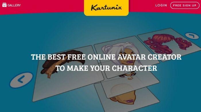 Kartunix - Create Free Avatar Online