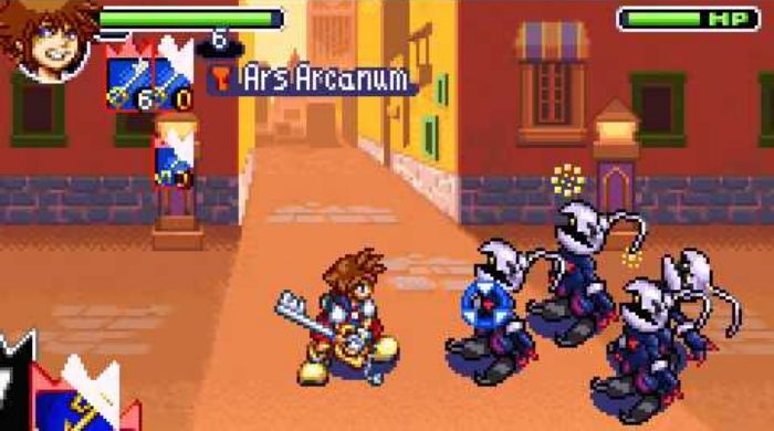 Kingdom Hearts Chain of Memories - Best gameboy advance