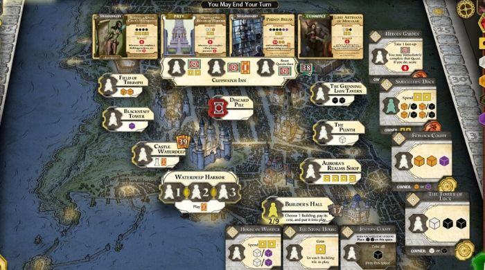 Lords Of Waterdeep online game