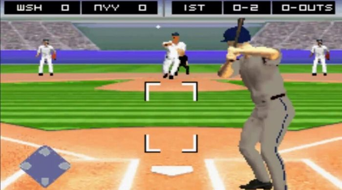 Major League Baseball 2K7 - Gameboy rom advance