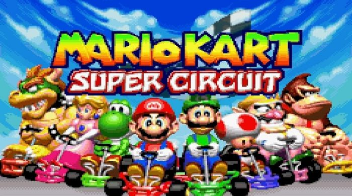 Mario Kart Super Circuit - GBA Game