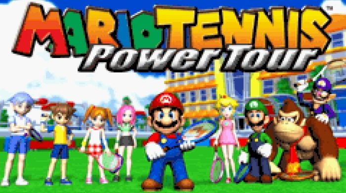 Mario Power Tennis - gameboy advance roms