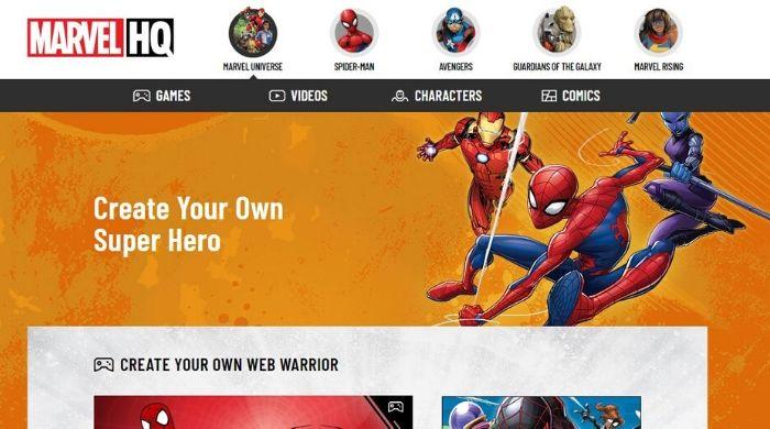 Marvel Superhero Avatar - Create Free Avatar Online