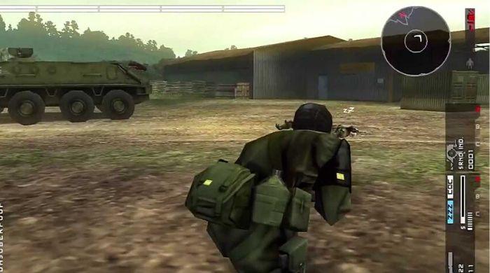 Metal Gear Solid Peace Walker - Best PSP Game