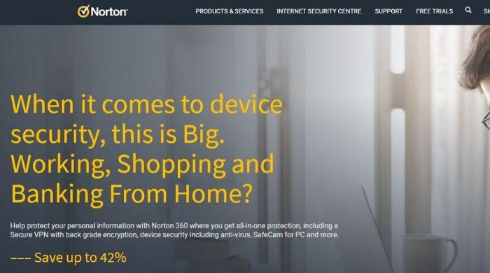 Norton Antivirus by Symantec
